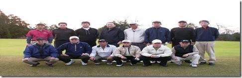 平成21年新年ゴルフコンペ