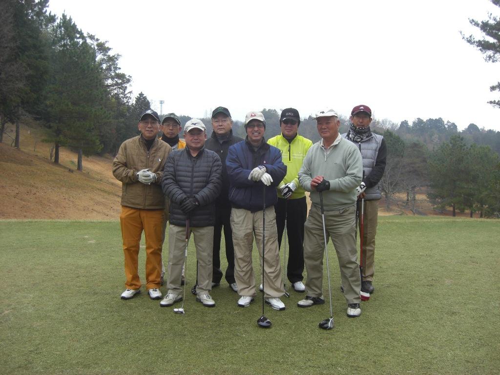 平成26年新春ゴルフ 加西インターCC 1月4日