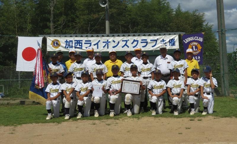 第31回加西LC旗争奪少年野球大会 優勝チーム  泉少年野球クラブ