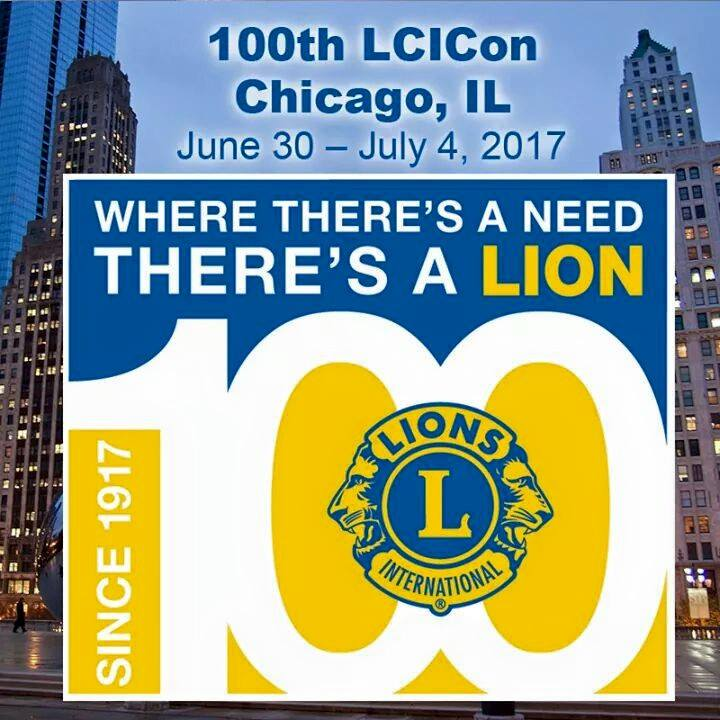 100th LCICon Chicago,IL THERE'S A LION SINCE 1917