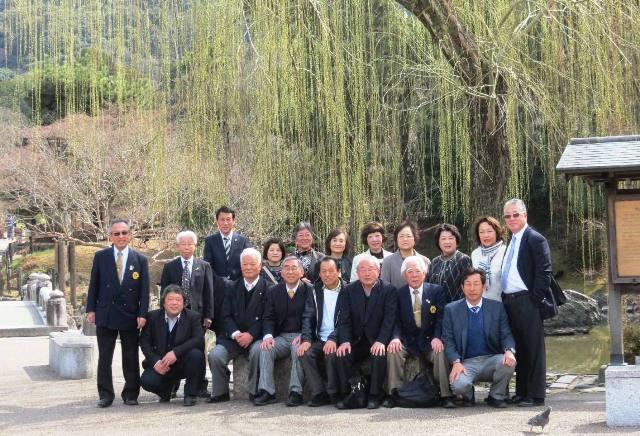 移動例会 京都 祇園丸山公園 於