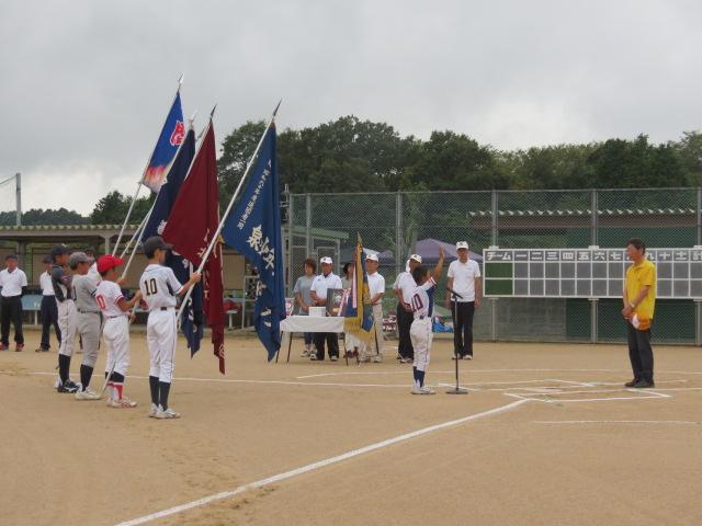 加西LC旗争奪少年野球大会 加西市民グランド 於